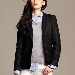 Banana Republic wool hacking jacket blazer size 0